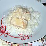 recette Poulet à la sauce crémeuse