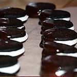recette Biscuits Fourrés à la Crème de Menthe