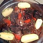 recette Daube de joues de boeuf au vin rouge
