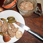 bocaux de pate de chevreuil