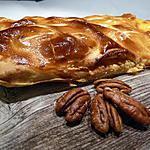 recette Ooo Galette des rois, pommes, caramel au beurre salé & noix de pécan ooO