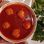 recette Boulettes parmesan pour soupe