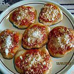 recette MINI PIZZAS SIMPLE