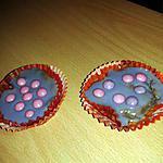 recette cupcake a la violette