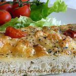 recette Focaccia tradionnelle des Pouilles
