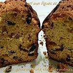 recette Cake de Noël aux figues et aux noix