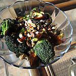 recette Broccoli à l'ail, au beurre et aux noix de cajou