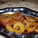 recette pommes au caramel