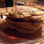 recette Pancakes salés : lardons fromage