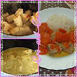 recette Curry de porc aux carottes