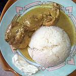 recette Poulet aux lait de coco