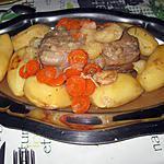 recette Epaule de veau moelleuse, façon rôti, en cocotte