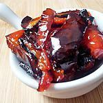 recette Confit de poivrons