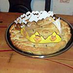 recette galette des rois poires chocolat,,,pate d amandes