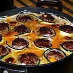 recette Cannellonis de Courgettes Farcis au Boeuf et à la Béchamel Mimolette