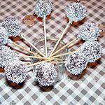 recette cake pops à la noix de coco