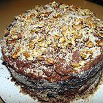Gâteau garni au fudge