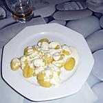 gnocchis gratinés au boursin ail et fines herbes