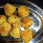 recette croquettes de riz à la raclette