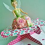 Gateau barbie Princesse Fée Clochette