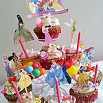 recette Tour de Princesses  (Assortiments de cupcakes)