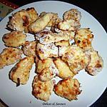 recette Nuggets de poulet cuits au four