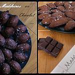 recette Madeleine au Chocolat ( C. Felder )