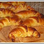 recette Croissants aux lardons fumés et emmental