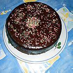 Gateau moelleux au chocolat noir(recette brasserie)