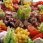 recette Salade multicolore....au caprice des Anges...