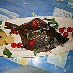 recette Carrelet au four a la niçoise