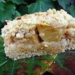 recette carrés croustillants aux pommes