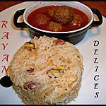 recette Daoud Bacha et Riz Vermicelle Pilaf