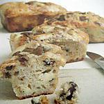 recette MINI CAKES AU ROQUEFORT AUX POIRES ET AUX NOIX