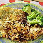 recette filets de merlan pané aux flocons de pomme de terre et amandes (recette de laurent mariotte tf1)