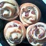 recette Brioche à la crème pâtissière et aux raisins secs