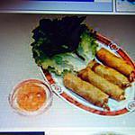 recette NEMS  AU POULET (Japonais) sans friture.