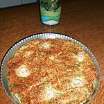 recette Quiche sans pâte au saumon fumé, crevettes, aneth et chèvre frais.