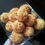 recette rocher coco au coeur de nutella