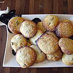 recette Palets des dames aux cranberries et citrons confits