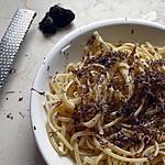recette Pâtes à la truffe