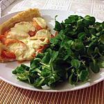 recette Tarte saumon tomates et mozarella