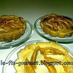 recette tartelettes aux nefles , lait concentré