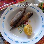 recette Petits mulets frits
