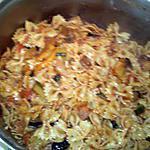 recette Pâte aux légumes et sa sauce