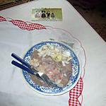 recette galette de blé noir au saumon