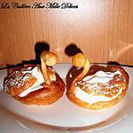 recette Cygnes à la chantilly en pâte à choux (P. Hermé)