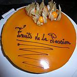 Entremet au fruits de la passion