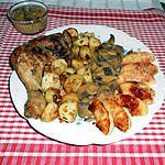 recette Cuisses de poulet au cidre et pommes caramélisées