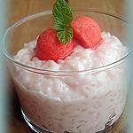 recette riz au lait fraises Tagada ®